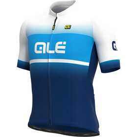 Alé Cycling Solid Blend Maillot Manga Corta Hombre, blue/light blue